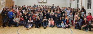 Gruppenfoto Weihnachtsfeier KSV Nordhorn e.V.