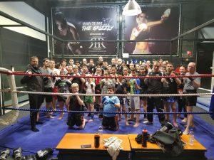 Training im Kickboxen und Muay Thai